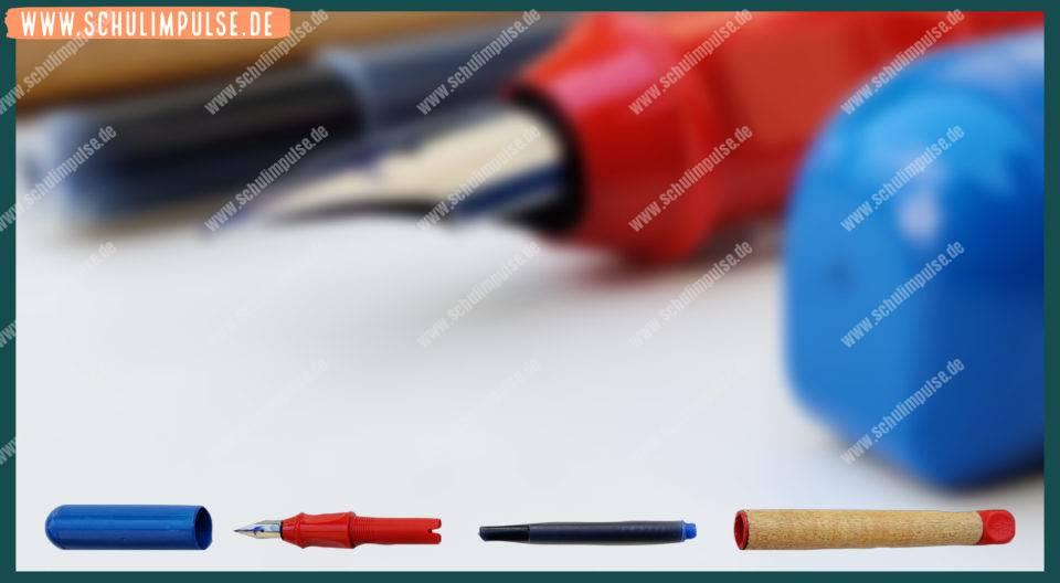 Teile des Füllers
