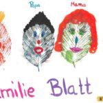 Familie Blatt – Laubblätter im Sach- und Kunstunterricht